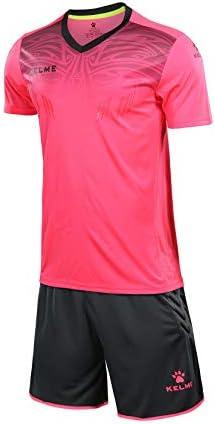 KELME Goalkeeper Short Sleeve Jersey Bundle Set Includes Goalie Shirt and Padded Shorts Large product image