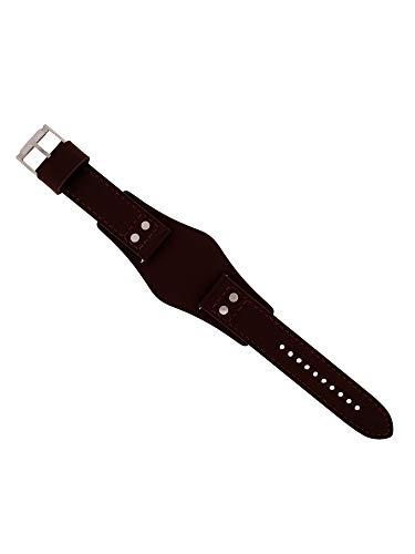 Fossil Uhrband Wechselarmband LB-CH2890 Original Ersatzband CH 2890 Uhrenarmband Leder 22 mm Braun