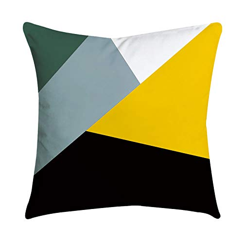Janly Clearance Sale Funda de almohada de piña, color amarillo, funda de almohada para sofá o coche, para decoración del hogar, funda de almohada para día de Pascua (altura)