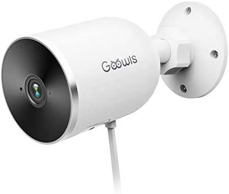 Security Camera Outdoor Goowls 1080P WiFi Camera IP66 Waterproof Home Security Surveillance product image
