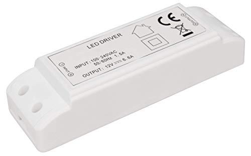 McShine - LED Trafo | elektronisch, 230V auf 12V | LED-Treiber | Netzteil | Driver (1W - 80W)