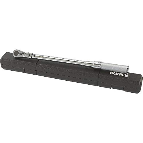 Klutch Flex Head Torque Wrench - 3/8in.-Drive -  20420800301