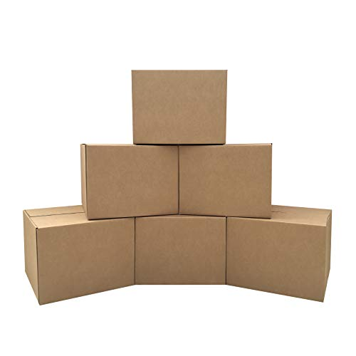 of place to get boxes for movings Amazon Basics Moving Boxes - Large, 20