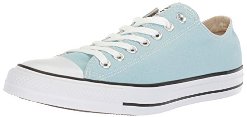 Converse Chuck Taylor All Star Seasonal Canvas Low Top Sneaker, Ocean Bliss, 8 M US