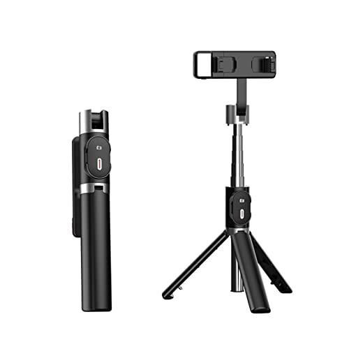 NEOBASE   Bastone Selfie Stick Con Treppiede Per Smartphone   Cavalletto Cellulare Con Telecomando Bluetooth E Luce Incorporata