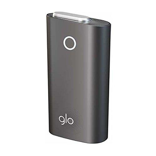 (グロー) glo 限定 カラー 新型 バージョンアップ スターターキット セット 本体 (ストーン・ブラック)
