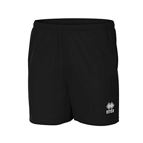 Errea Herren New Skin Fußball-Shorts/Sport-Shorts (XLarge) (Schwarz)