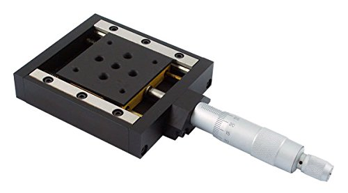 PT-SD106G Precision Crossed-Roller Bearing Linear Stage, 25mm Travel