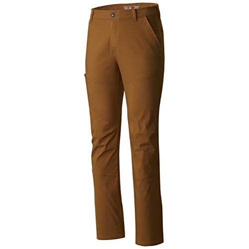 Mountain Hardwear Men's AP Pant for Hiking, Climbing, Camping, and Casual Everyday - Golden Brown - 32W x 30L