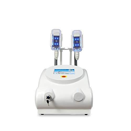 WYJW Kryolipolyse-Fettgefrier-Schlankheitsgerät, Fettgefriergerät für Körperformung + Kryolipolyse-Griff für Arm und Bein + Vakuum + Vibration + Blaulicht