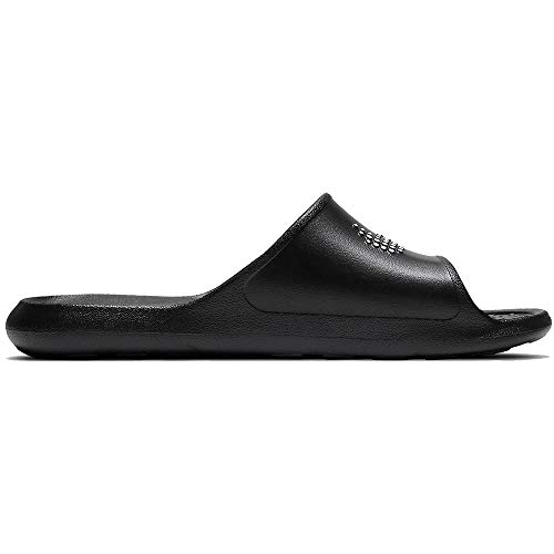 Nike VICTORI One Shower Slide, Scarpe da Ginnastica Uomo, Black/White-Black, 42.5 EU