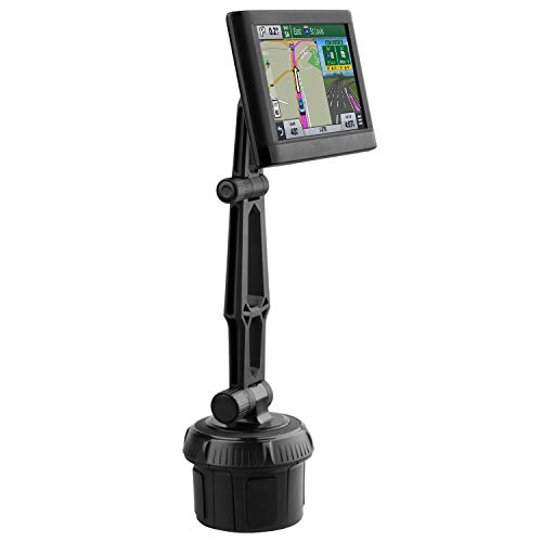 GPS Getränkehalter Halterung, Navi Auto Becherhalter Halterung mit verstellbarem Arm, Ersatz Upgrade Halterung für Garmin Nuvi Dezl DriveSmart StreetPilot Zumo Sat Nav