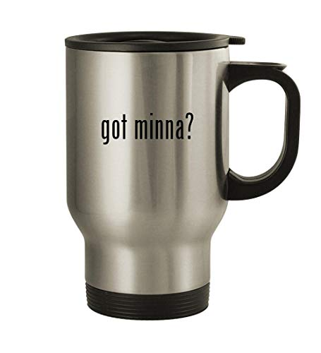 got minna? - 14oz Stainless Steel Travel Mug, Silver