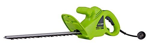 Greenworks 18-Inch 2.7 Amp Corded Hedge Trimmer 22102 (Renewed)