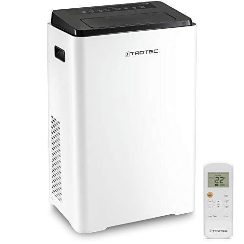 TROTEC PAC 3900 X Climatizzatore Portatile a 13.300 Btu, Condizionatore D'Aria Locale Monoblocco da 3,9Kw, 3in1: climatizzatizzare, ventilare, deumidificare