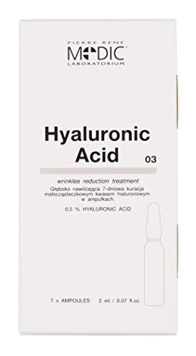 Deep Moisturising 7-Day Low-Molecule HYALURONIC Acid Treatment 7 x 2ml / Traitement hydratant en profondeur 7 jours à faible molécule et à l'acide HYA