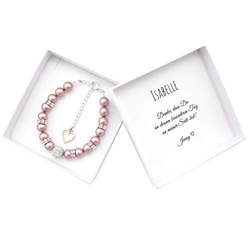 Trauzeugin Geschenk Dankeschön Armband Box personalisiert