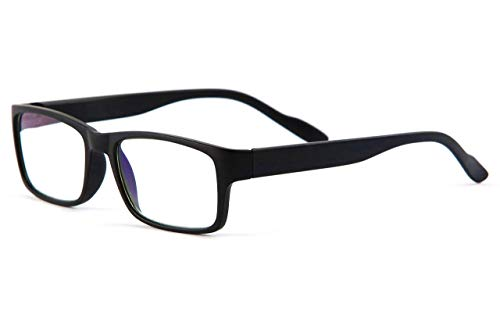 Readerest Blue Light Blocking Reading Glasses (Black, 2.00 Magnification)