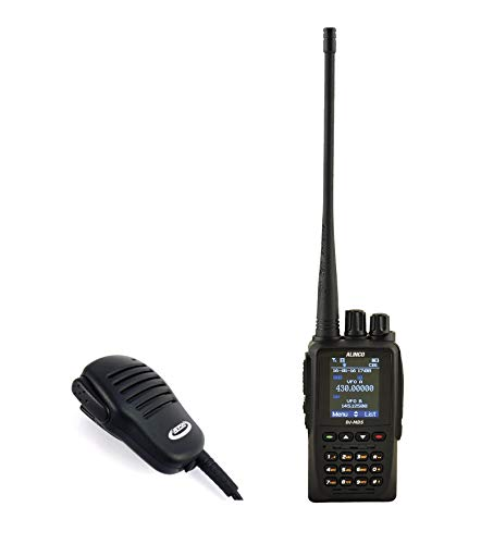 Pack Walkies DMR Doble Banda VHF-UHF ALINCO DJ-MD5 + microa-Altavoz JETFON JR-4001 E/IL