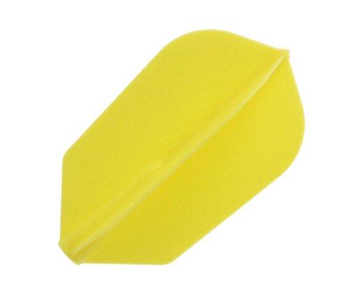 COSMO DARTS Flug Fit Flight Super Slim 6 Stueck gelb