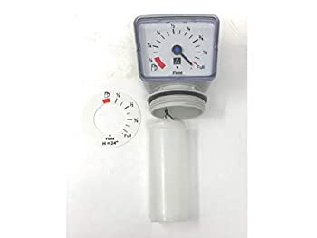 Afriso Mechanical Float Operated Tank Contents Gauge - for 2  NPT tank openings