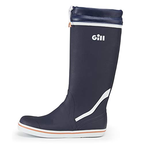 Gill Men's Tall Yachting Rubber Boots, Color: Bark Blue, Size: 44 (909DB44)