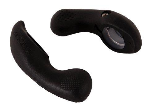 MSC Bikes 600Cr 75 mm - Acoples Manillar ergonómicos de Ciclismo, Color Negro