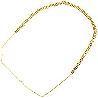 Vama Fashions 3 Line Designer kamarband Body Belly Chain Fancy Waist Chain for Women