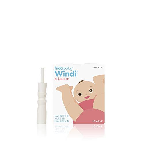 Fridababy Windi Blähhilfe für Babys ab 0 Monaten, 10 Stück, Einweg-Katheter, Natürliche Hilfe bei Blähungen, 20437