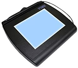 TOPAZ SYSTEMS InfoLogix SignatureGem T-LBK766 Signature Capture Pad<br>TOPAZ SIGNATUREGEM LCD 4X5IN BACKLIT INCLUDES SIGPLUS SW<br>Backlit LCD - Active PenUSB, Serial