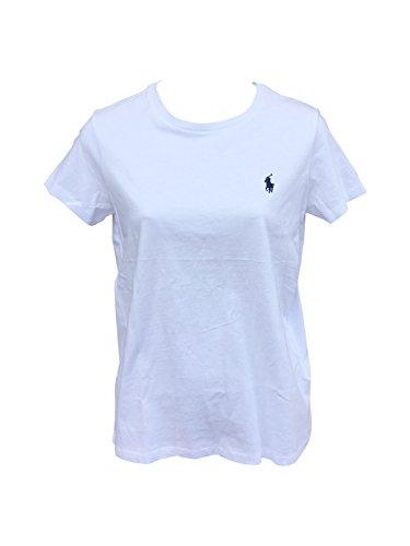 Ralph Lauren Crew Neck T-Shirt, Weiß Large