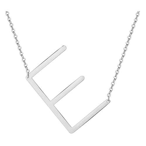 Dorical Buchstabe Halsketten,A-Z Halskette, Personalisierte Gold Herz Anhänger Buchstabe Kette Alphabet,Anhänger Halsketten Frauen Mädchen Kindergeschenke Sonderverkauf(02-F,One Size)