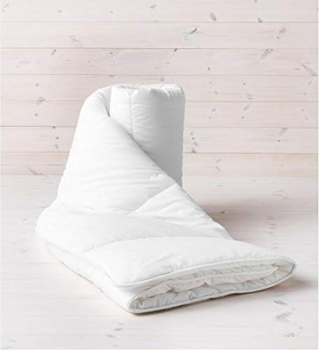 Value Comfort Home Lightweight Summer Cool Breeze 100% Soft Silky Anti-Allergy Microfibre Feels Like Down 1.5/3 Tog Duvet Quilt Single, 1.0