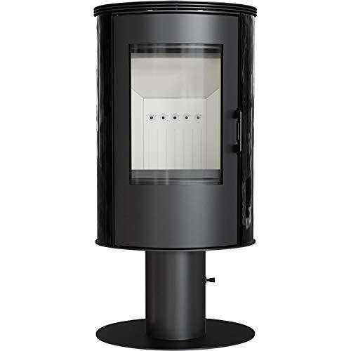Kratki AB S/N/O/DR Koza - Estufa de chimenea (8 kW, cerámica, base giratoria, nivel 2)
