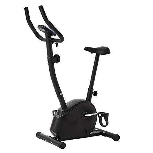 LHY Bicicletas Estáticas Spinningbicicleta De Ejercicios De Interiorbicicleta Estática con Prueba De Frecuencia Cardíaca Silencioso Controlado Magnéticamente Ajuste De Resistencia Girando