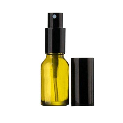 Bouteille de pulvérisation à base de vernis en verre 15ml Conteneur de parfum cosmétique (4 PCS)