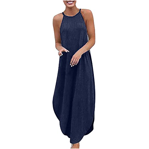 Loose Denim Dresses for Womens UK Clearance Party Dresses Ladies Plus Size...