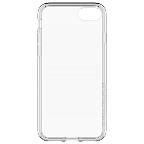 OtterBox Clearly Protected Skin Bundle Extra Slim Silikon Schutzhülle + Performance Glas Display Schutzglas, geeignet für iPhone 7/8, transparent