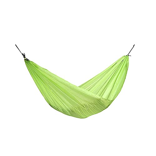 KTDT Amaca Portatile in Nylon Paracadute Amaca Altalena per Interni Viaggi all'aperto Campeggio Cortile Spiaggia Escursionismo Viaggi Zaino in Spalla attività Ricreative all'aperto