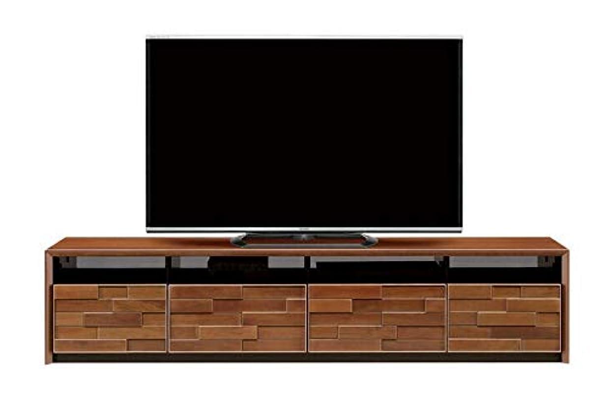 他に性差別複合北欧風 幅180cm ロータイプTVボード 引き出し付き 完成品