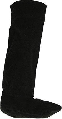 Damen Fleece-Socken für Gummistiefel SK205, schwarz