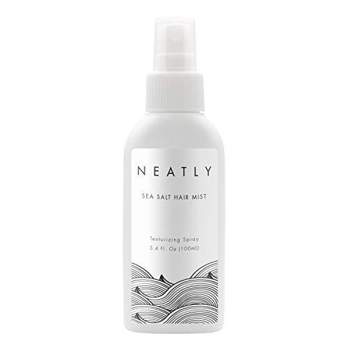 Meersalz Haarspray I Neatly Sea Salt Haarpflege für Frauen 100 ml I Textur & Volumen für Beach Waves Haare I Meersalz Spray I Salzwasserspray bio I Kokosnuss Extrakt für Glanz & Volumen