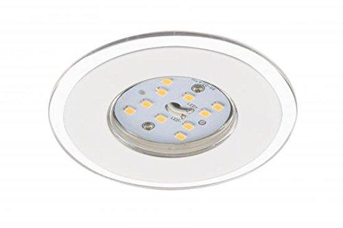 Briloner LED Einbauleuchten Set 3-flammig weiss IP 44