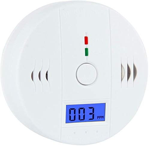 Carbon Monoxide Gas Detection,CO Detector, Battery Powered CO Alarm with LCD Digital Display