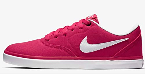 NIKE Zapatillas SB Check Solar Canvas - Pink/White 921463 (41 EU)