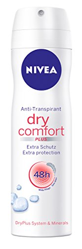 Nivea Deo Dry Comfort Plus Spray, Antitranspirant, 6er Pack (6 x 150 ml)