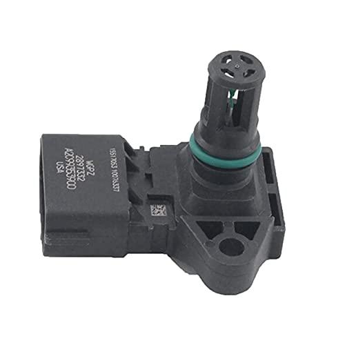 Vernacular Sensor de Temperatura del Aire de admisión 2897332 El RAM 2500 3500 4500 07-17 5WK 96803 5WK96803 2897332 (Color : Black)