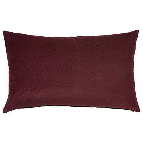 IKEA.. 404.167.52 - Federa per Cuscino Sanela, Colore: Rosso Scuro