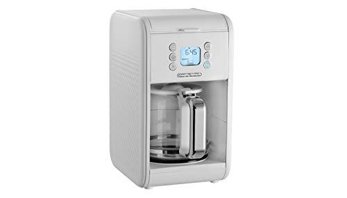 Morphy Richards 163007 Verve Pour Over Filter Coffee Machine, White