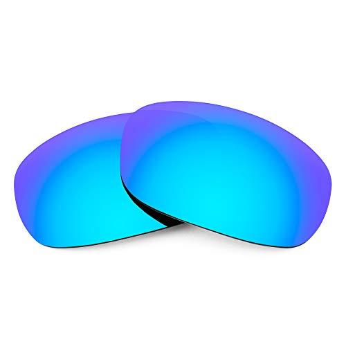 Revant Verres de Rechange Compatibles avec Maui Jim Stingray MJ103, Polarisés, Bleu Glacier MirrorShield